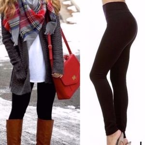 TRINITY fall leggings - BLACK